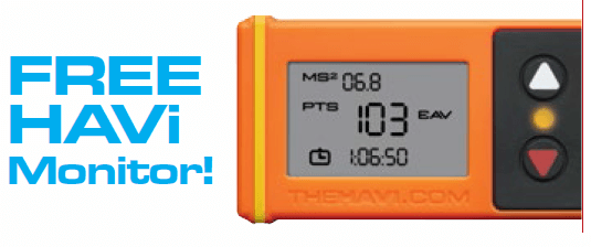 Free HAVi Vibration monitor