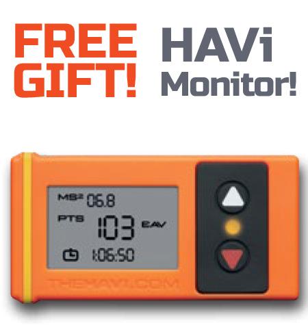 Free HAVi Vibration monitor